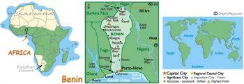 BENIN (WEST. AFRICAN STATES)  10.000 Francs 1997  AUNC