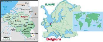 BELGIUM 100 FRANCS (1995-2001) P-147 UNC Last Pre –Euro
