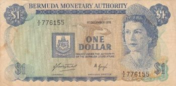 BERMUDA 5 DOLLARS 2009 (2013) HYBRID UNC
