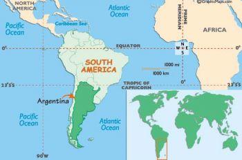 ARGENTINA 1 AUSTRAL ON 1000 PESO P 320 UNC
