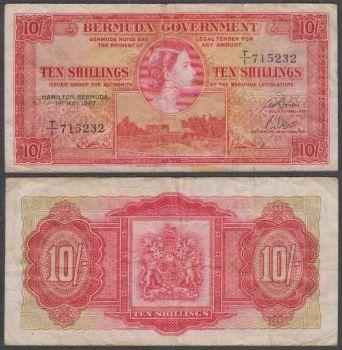 BERMUDA 10 DOLLARS 2009 HYBRID UNC