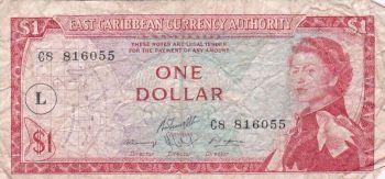 EAST CARIBBEAN $20 DOLLARS