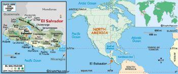 EL SALVADOR 5 COLONES 1988 P-134  UNC
