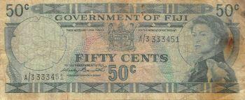 FIJI 5 DOLLARS QE II 2002 P-105 UNC