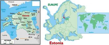ESTONIA 50 KROONI 1994 (R.Tobias Opera House) P-78 UNC