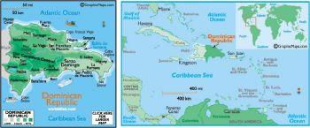 DOMINICAN REPUBLIC 50 CENTAVOS 1961 P-89 UNC