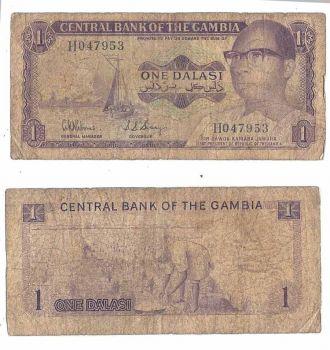 GAMBIA 5 DALASIS 2006 UNC