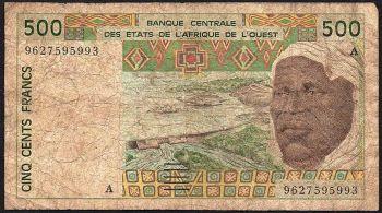 GABON 500 FRANCS 1978  UNC