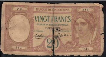 DJIBOUTI (BANQUE NATIONALE) 2.000 FRANCS 2007 P-NEW UNC