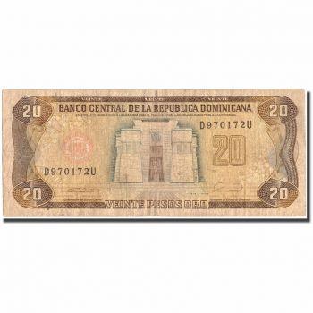 DOMINICAN REPUBLIC 5 PESOS ORO 1988 P-118c UNC