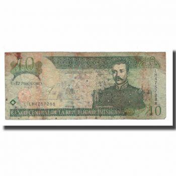 DOMINICAN REPUBLIC 20 PESOS ORO 2004 P-169 UNC
