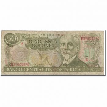 COSTA RICA 5 COLONES 1988-90  UNC