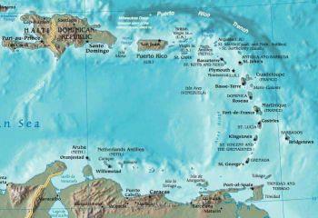 EAST CARIBBEAN 5$ DOLLARS G (Νήσος Grenada) UNC