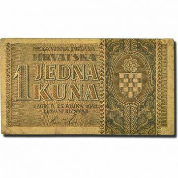 CROATIA 5.000 DINARS (Δύσκολο) 1992  P 24 UNC