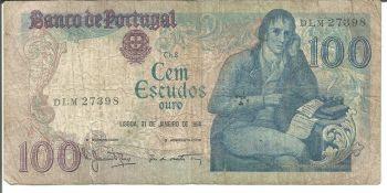 PORTUGAL 20 Escudos 1964 UNC