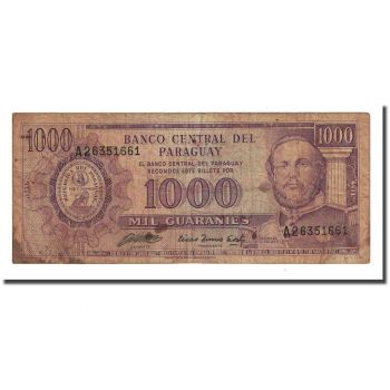 PARAGUAY 500 GUARANI 1982 P 206 UNC