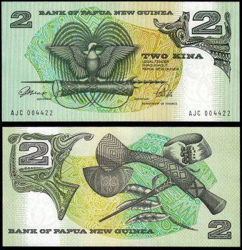 PAPUA NEW GUINEA 5 KINA 2007 UNC