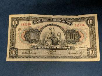 PERU 500 SOLES P 125A 1982 UNC