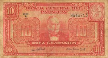 PARAGUAY 5000 GUARANIES 2011 (2013) P-NEW POLYMER UNC