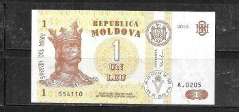 MOLDOVA 50 LEI 2008 UNC