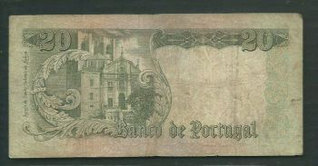 PORTUGAL SET (3) 20-50-100 ESCUDOS 1964-65 UNC