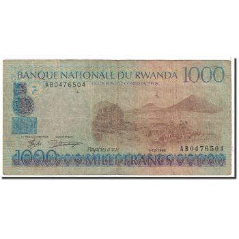 RWANDA 20 FRANCS 1.1.1976 P-6e UNC