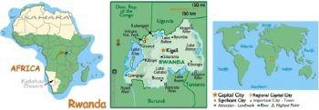 RWANDA 100 FRANCS (Amafaranga) 1989 P 19 UNC