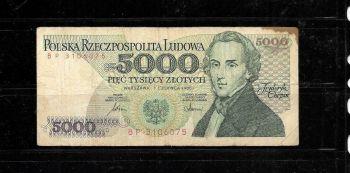 POLAND 20 ZLOTYCH 2009 (SLOWACKI) UNC