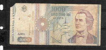 ROMANIA 5000 Lei 1945 @AU (χαρτί με υδατογράφημα)