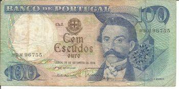PORTUGAL 50 ESCUDOS 1980 P 174 UNC