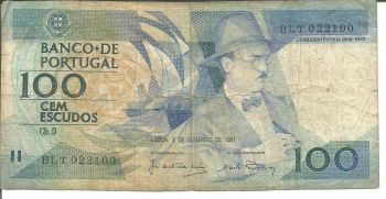 PORTUGAL 20 ESCUDOS 1978 P 176 UNC