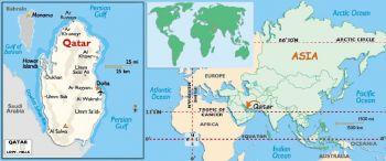 QATAR 5 RIYALS 2008  UNC