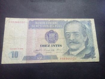 PERU 20 NUEVO SOLES ND (2006) UNC