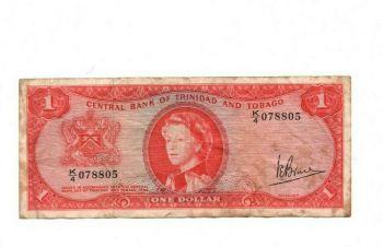 TRINIDAD & TOBAGO 20 DOLLARS 2002 UNC