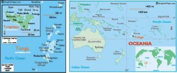 TONGA 2 PA'ANGA 2008-2009 UNC NEW King George Tupou V