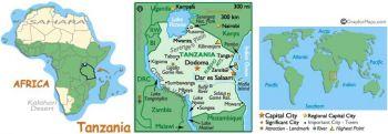 TANZANIA 10 SHILLINGS ND (1978) P-6b UNC