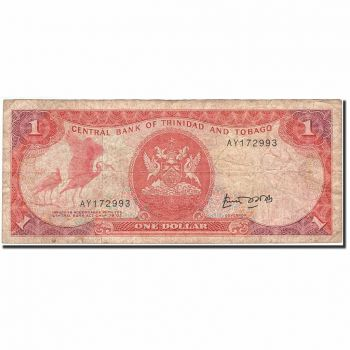 TRINIDAD & TOBAGO 10 DOLLARS 2002 P 43 UNC
