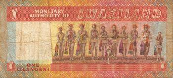 SWAZILAND 20 EMALANGENI 1986 P-12 UNC