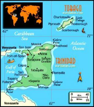 TRINIDAD & TOBAGO 10 DOLLARS 1964  P-32 UNC