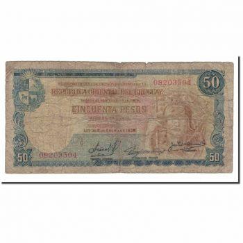 URUGUAY N$ 200 NUEVOS PESOS 1986 P 66 UNC