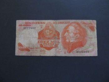 URUGUAY 1000 NUEVOS PESOS ND (1992) UNC