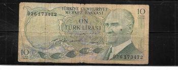 TURKEY SET 12 ΧΑΡΤΟΝΟΜΙΣΜΑΤΑ 10 ΕΩΣ 1.000.000 ΛΙΡΕΣ UNC
