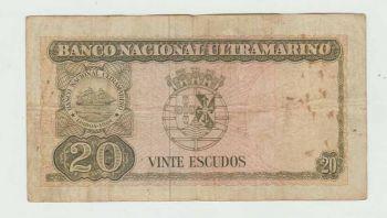 TIMOR 100 ESCUDOS 1963 UNC (spots)