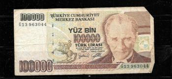 TURKEY 10 NEW LIRA P-NEW 2009 UNC
