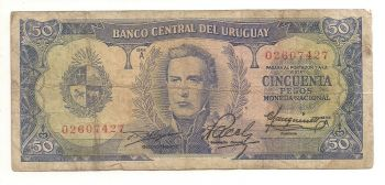URUGUAY 100 PESOS 2011 P-NEW UNC