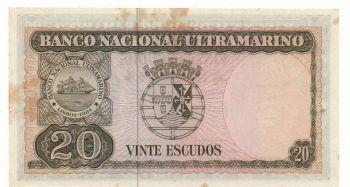 TIMOR 500 escudos 1963 XF