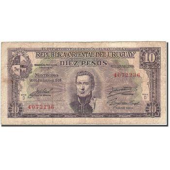 URUGUAY 5000 PESOS 1983 P-65 UNC