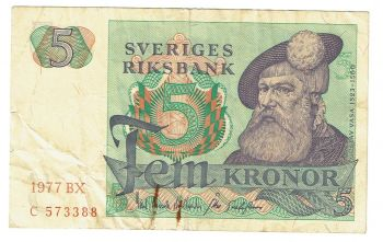 SWEDEN 20 KRONOR ND UNC