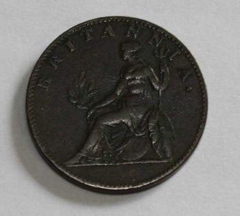 1819 Ιωνικό Κράτος  1/2 Οβολού