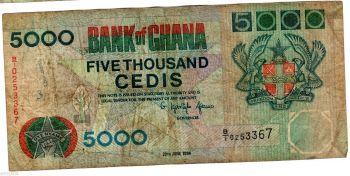 GHANA 10 CEDIS 1978 P 16 UNC